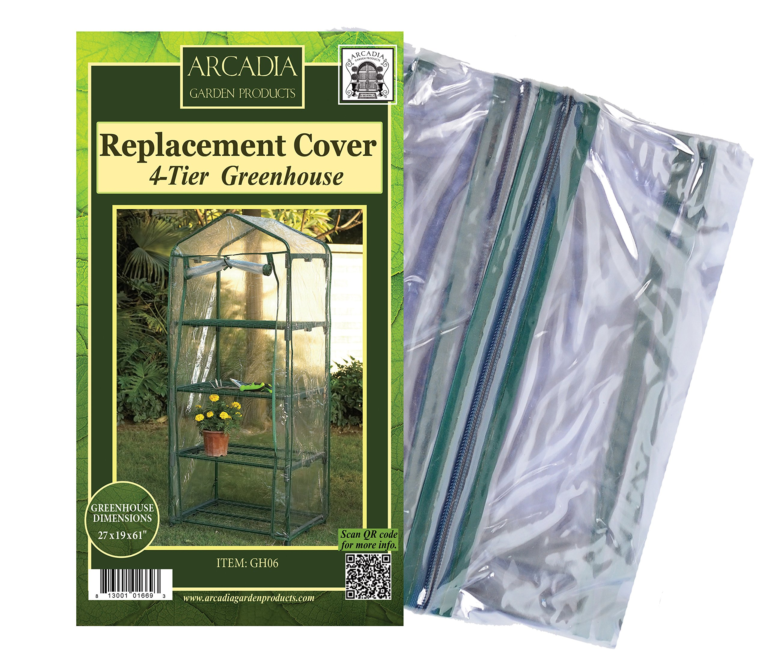 Arcadia Garden Products GH06 Mini Greenhouse by Arcadia Garden Products (Image #1)