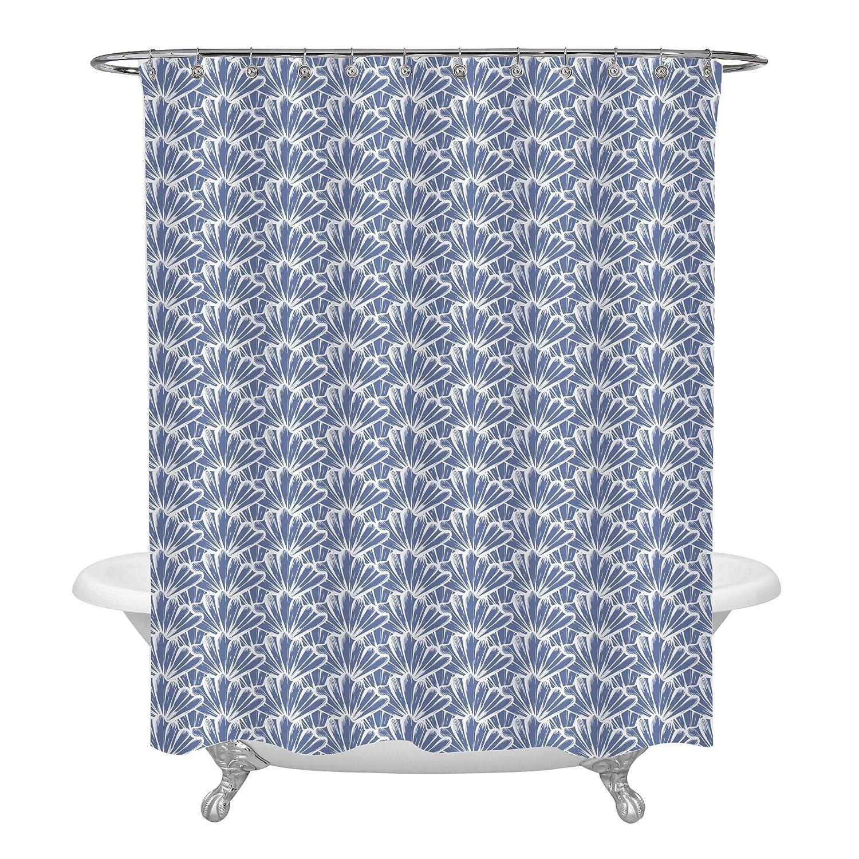 Amazon Com Mitovilla Ocean Blue Sea Shells Decorative Shower