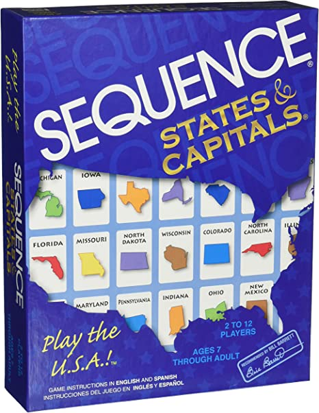 Jax Sequence Estados y Capitales: Amazon.es: Juguetes y juegos