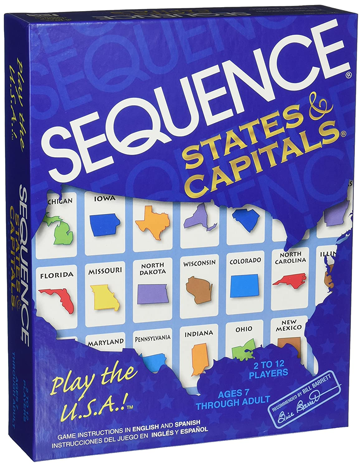 Amazon Jax Sequence States And Capitals Toys Games