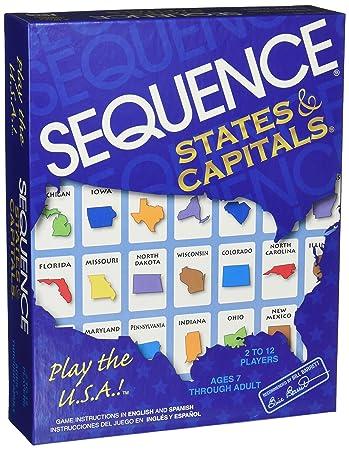 JAX Sequence Staaten und Hauptstädte: Amazon.de: Spielzeug