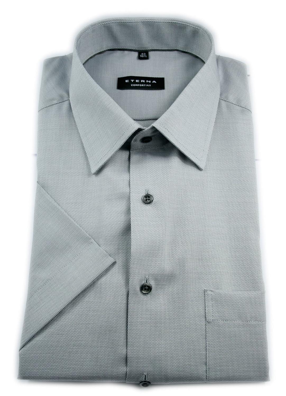 TALLA W47, longitud Kurzarm. Eterna - Camisa Formal - Liso - Clásico - para Hombre