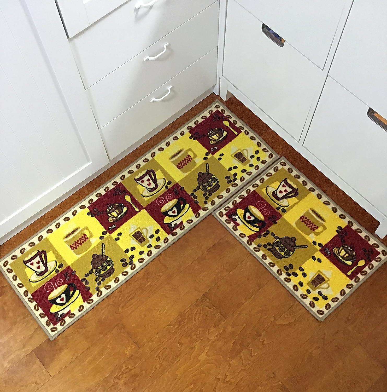 Euch Non Slip Rubber Backing Carpet Kitchen Mat Doormat Runner Bathroom Rug Ebay
