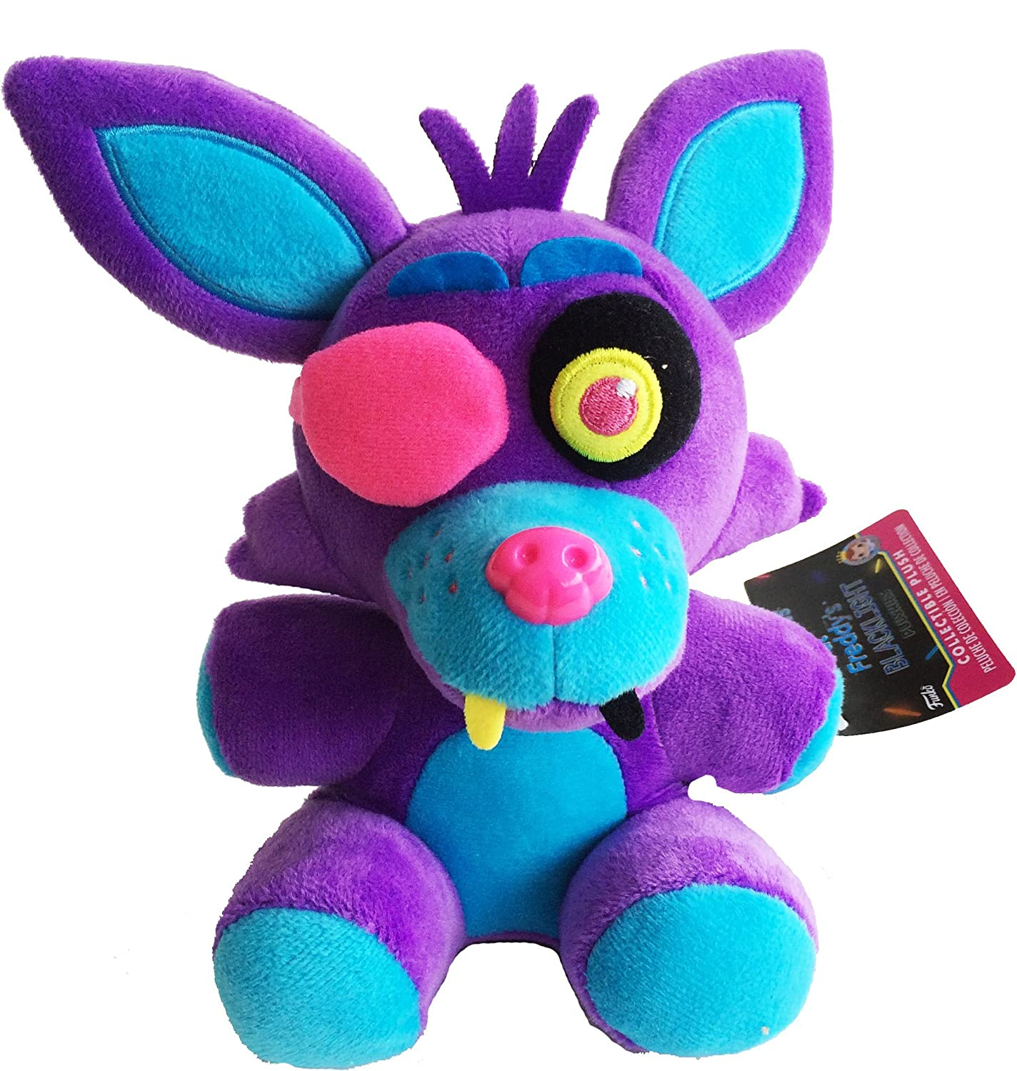 Five Nights at Freddy/'s New SET OF 6 Funko Collectible Blacklight Plush