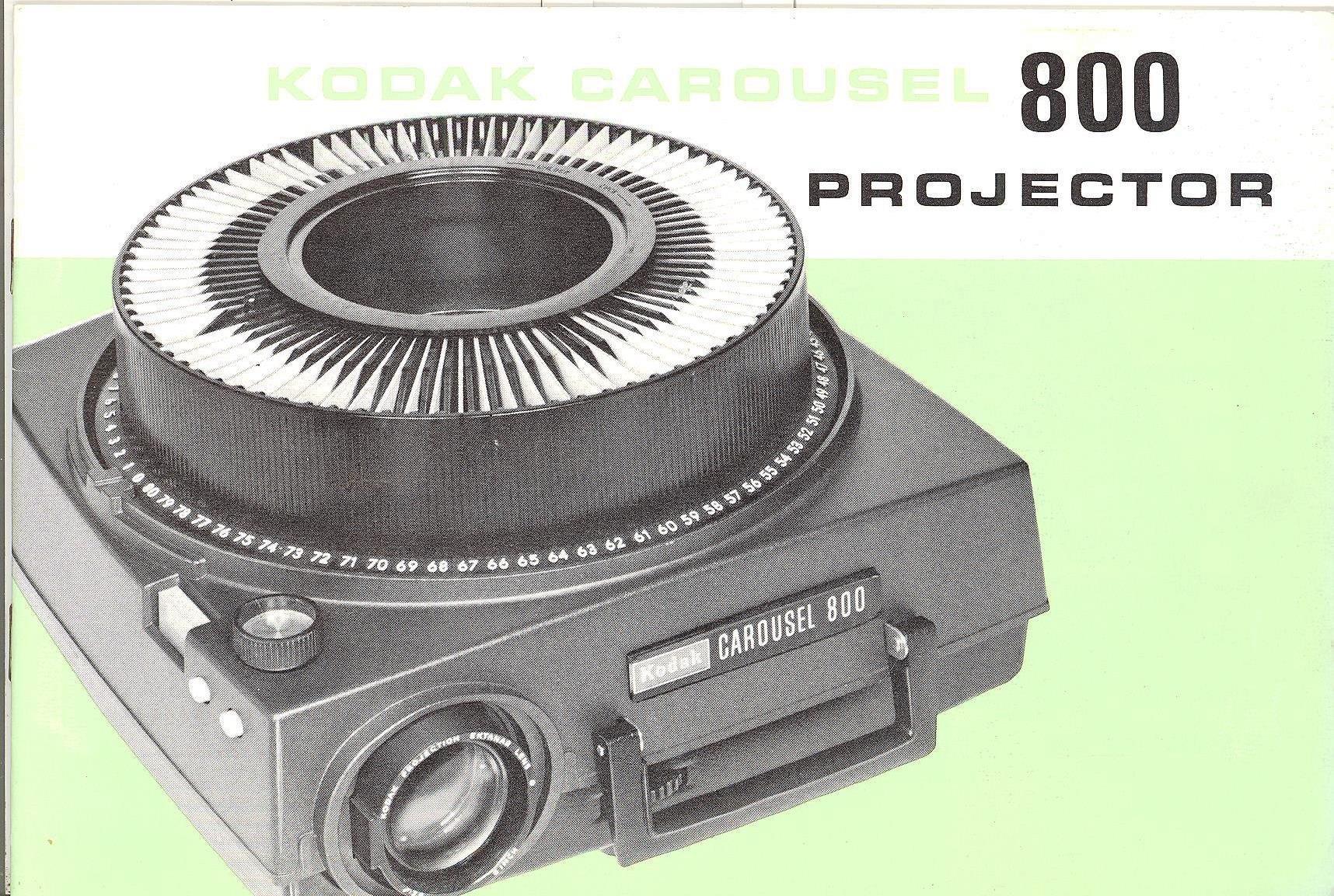kodak carousel 800 slide projector original instruction manual rh amazon com KC-10 Training Kodak Carousel Kodak Carousel Slide Projector