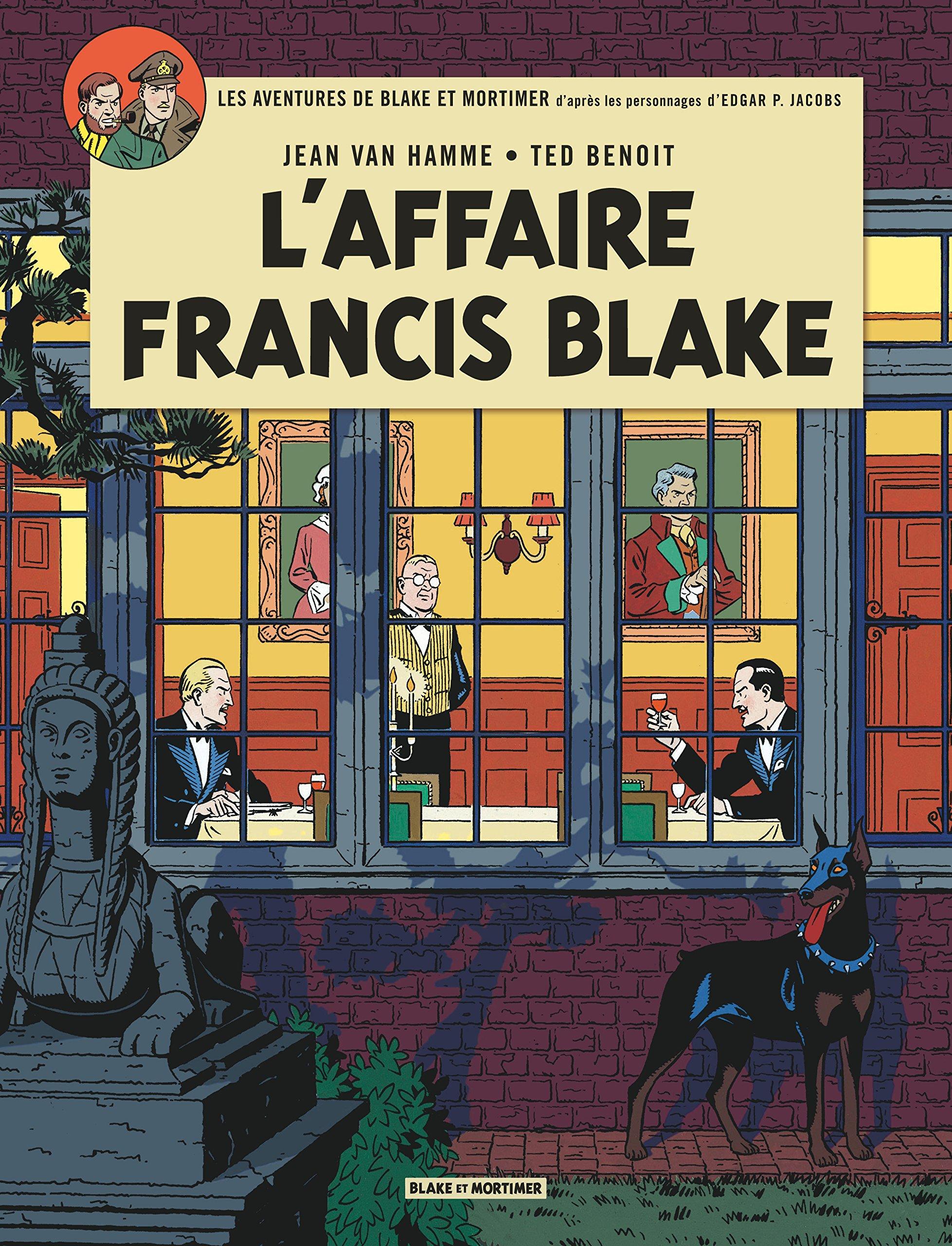 Blake & Mortimer - tome 13 - Affaire Francis Blake (L') Album – 5 novembre 2013 Van Hamme Jean Benoit Blake Mortimer 287097177X