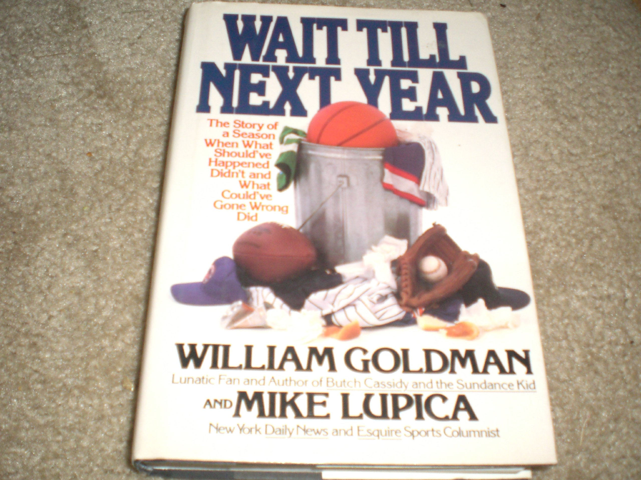 Story Of A Season When What Should've Happened Didn't, And What  Could've Gone Wrong Did: William Goldman, Mike Lupica: 9780553053197:  Amazon: Books