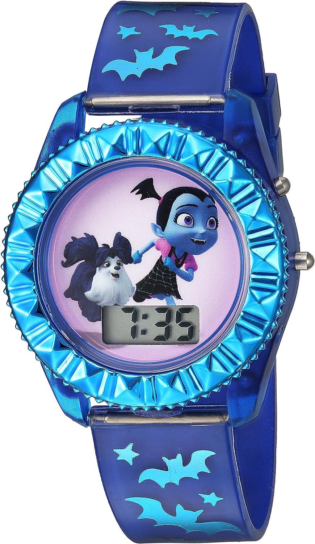 Disney Kids' VMP4004 Digital Display Quartz Blue Watch