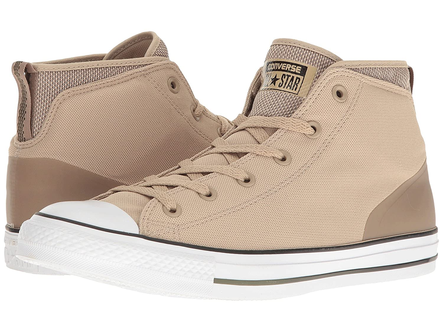 Converse Chuck Taylor All Star Suede Street Mid Men's Vintage KhakiMaltHerbal 155482C (7.5 D(M) US)