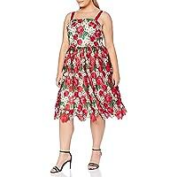 Gina Bacconi Women's Katri Guipure Dress Vestido de cctel para Mujer