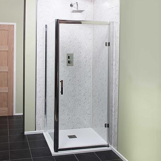 Cassellie Cass seis Bisagra de la puerta mampara de baño 800 mm ...