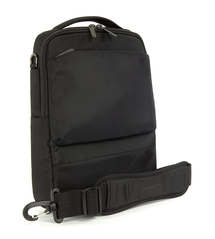 Funda Tucano Dritta Vertical 10 maletines para port/átil Negro 400 g, Negro