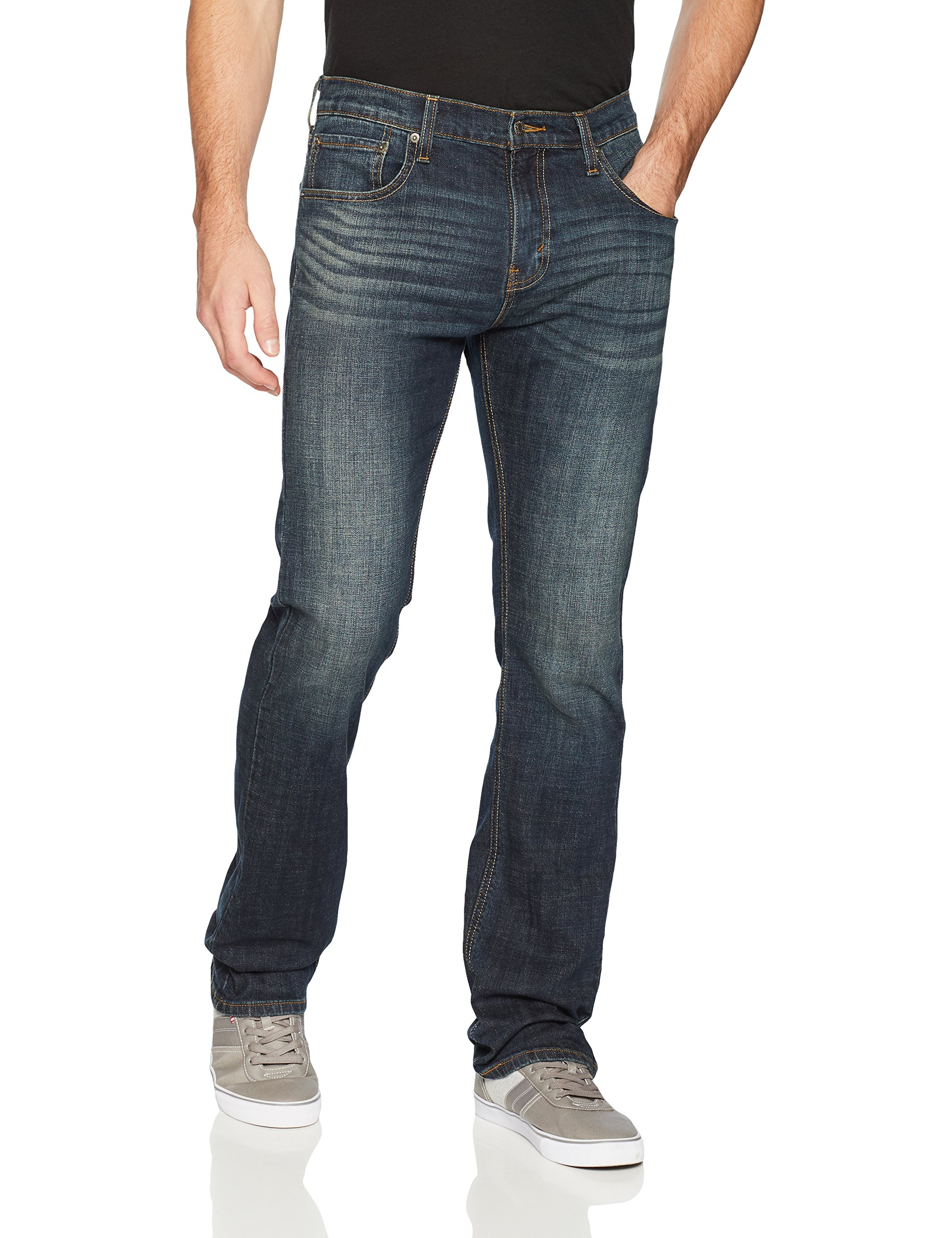 Signature by Levi Strauss & Co. Gold Label Men's Bootcut Fit Jeans, Fleetwood, 34W x 32L