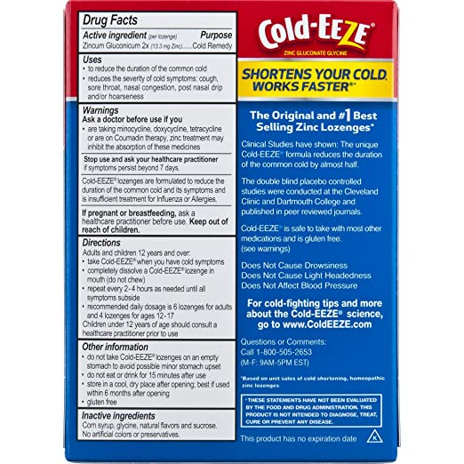 Amazon Cold Eeze Cold Eeze Cold Remedy All Natural Cherry