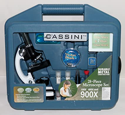 Amazon Cassini 900x Microscope Kit With Case Toys Games