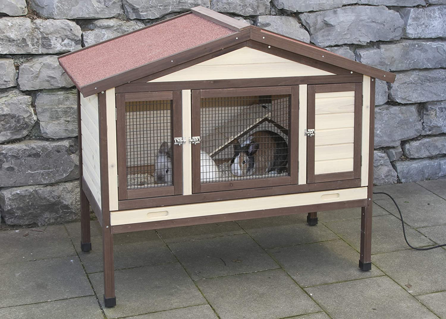 Kerbl Rodent Cage 4-Seasons Deluxe, 130 x 66 x 110 cm