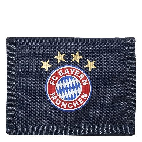 db2e5a930b adidas FCB FC Bayern Monaco, Portafoglio Unisex – Adulto, Blu (Maruni/Rojfcb