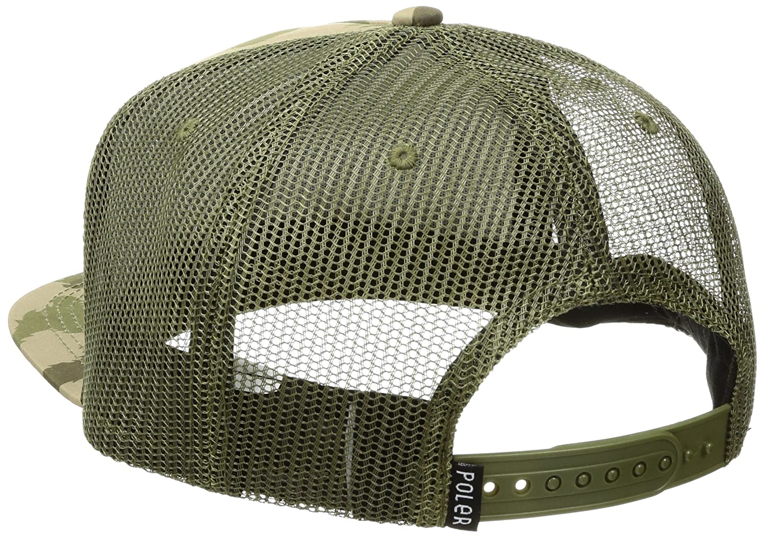 7aba8dcc Poler Men's Camp Vibes Trucker Hat, Green Furry Camo, One Size:  Amazon.co.uk: Clothing