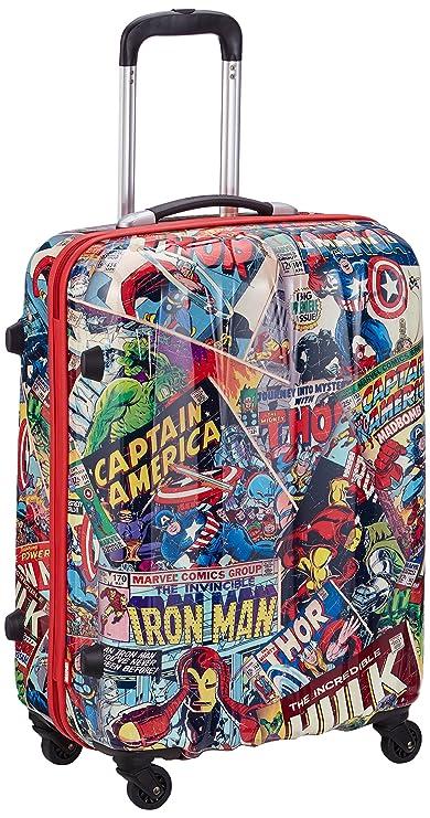 American Tourister Equipaje de Cabina, 65 cm, 52 L, Marvel Comics