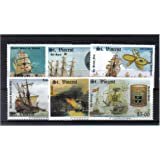 400th Anniversary of Spanish Armada Stamps for collectors - 6 Stamps issued in 1988 - Mint never hinged - St. Vincent - SG1137-1142 - Scott #1100-11-05 / Later Printing of 1988 Issue