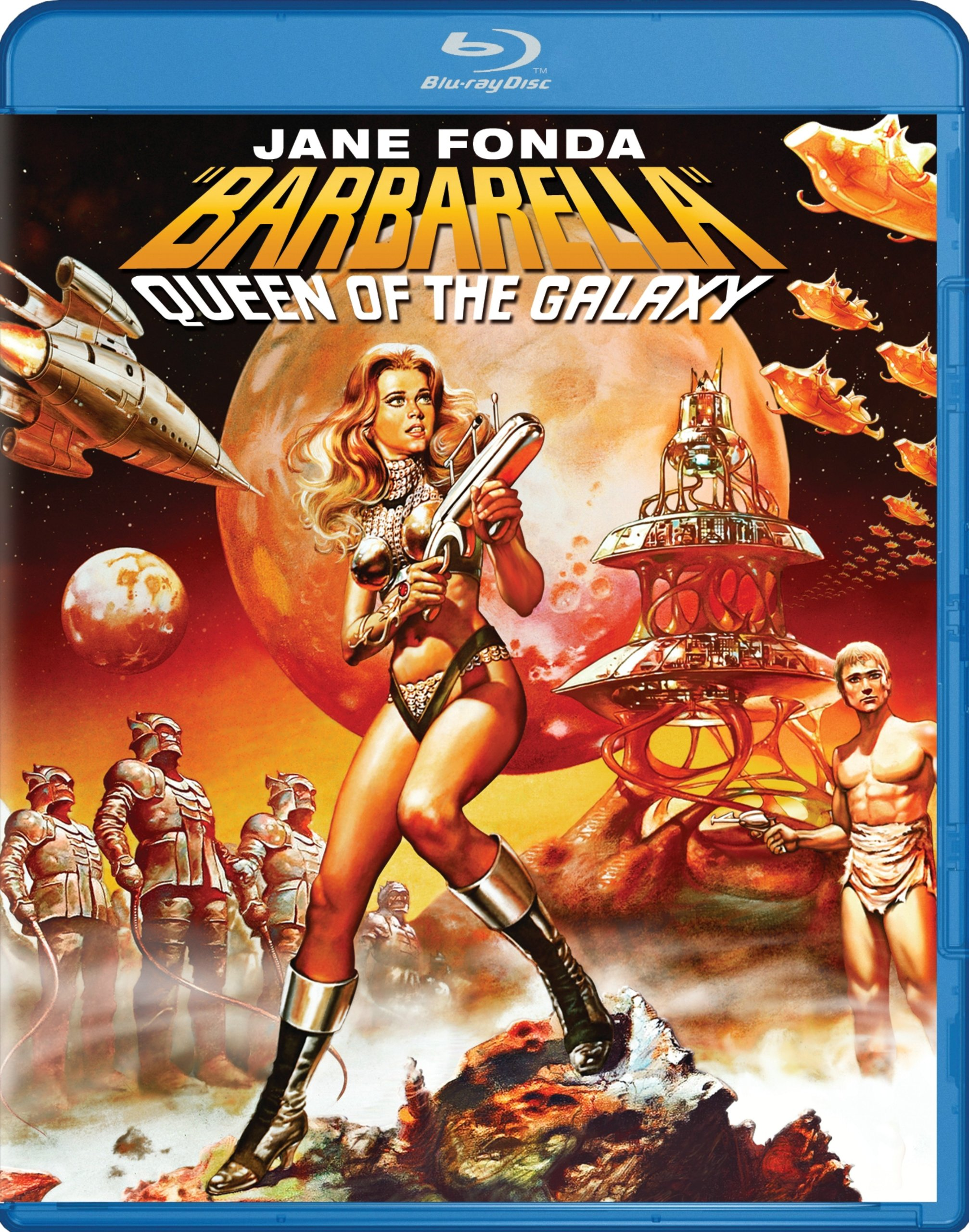 Blu-ray : Barbarella (Dolby, Widescreen, )