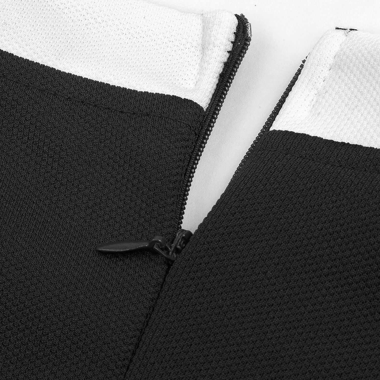 GRACE KARIN Womens OL Long Sleeve One-Piece Business Bodycon Pencil Dress CL433