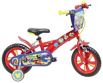 Mondo 25112.0 - Bicicleta infantil (ruedas de 30 cm), diseño de Mickey: Amazon.es: Juguetes y juegos
