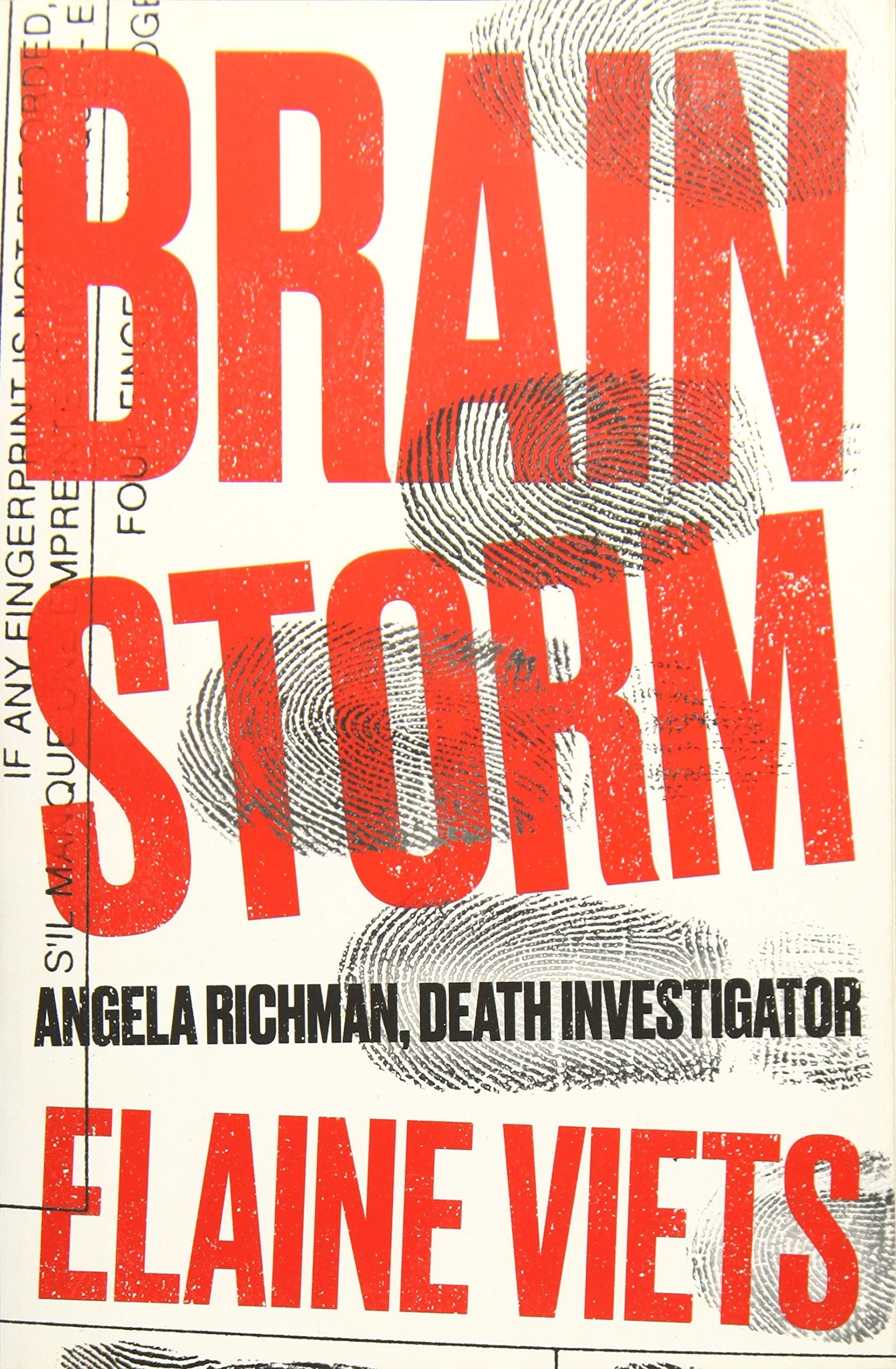 Brain Storm (Angela Richman, Death Investigator): Elaine ...