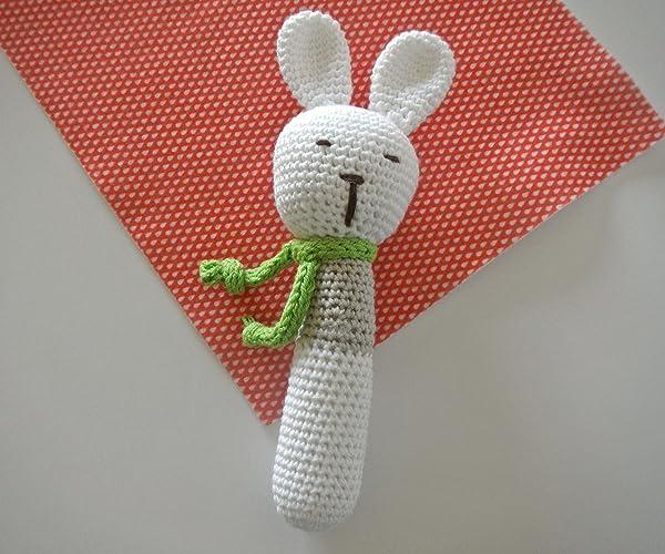 Baby Knitting Patterns Amigurumi Hasen als Kuscheltier oder ... | 500x600