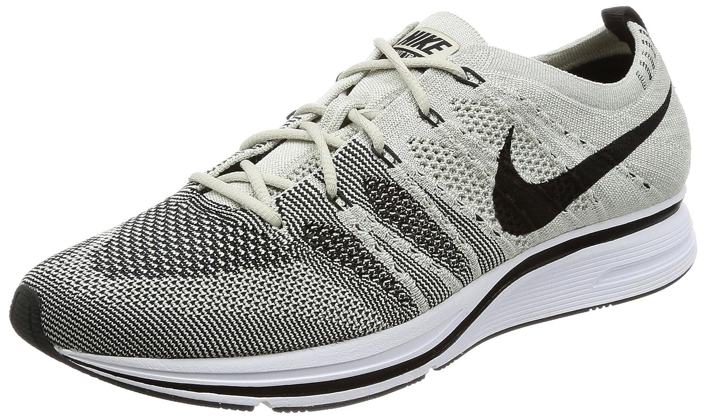 Nike Mens Flyknit Trainer Pale Grey/Black Flyknit