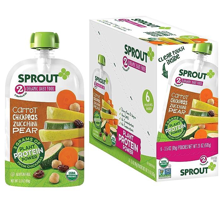 Top 10 Organic Baby Food Vega Pouches