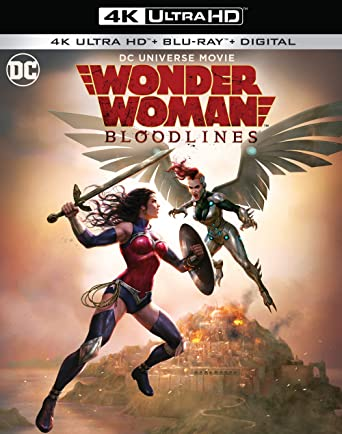 Amazon.com: Wonder Woman: Bloodlines (4K Ultra HD/Digital ...
