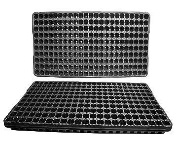 10 enciende las bandejas de plástico Semilla - Cada bandeja tiene 230 células Las células se