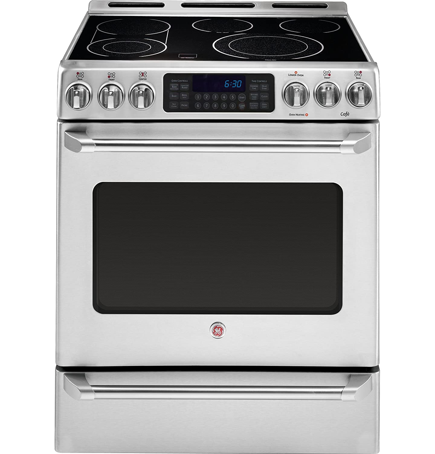 Ultimate Guide To Oven Safety Buying Tips Reviews And Our List Of Electric Vehicle Supply Equipment On Without Hard Wiring This Offers 5 Heating Elements Ges Preciseair Convection Bake So You Can Prepare Your Familys Favorite Recipes A Tee
