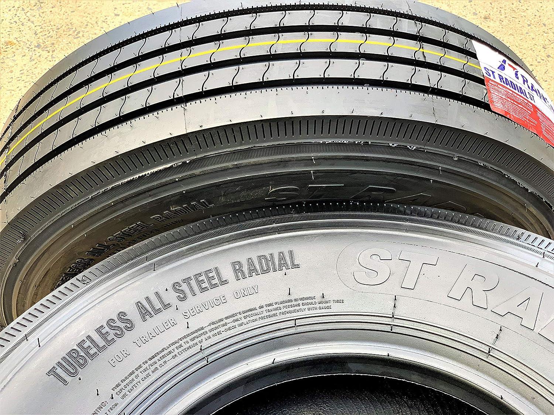 Transeagle ST Radial All Steel Heavy Duty Premium Trailer Tire-ST225/75R15 124/121L LRG 14-Ply