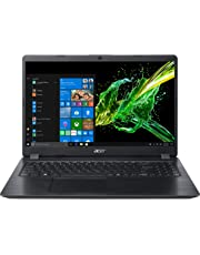 """Acer Aspire 5 A515-52-3973 Notebook con Processore Intel Core i3-8145U, 2.1 GHz, Ram 4GB, 128GB SSD, Display 15.6"""" FHD Acer ComfyView LED LCD, Windows 10 Home in S mode, Nero"""