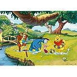 Disney Winnie The Pooh Panorama Papier Peint dècoration pour la Chambre d'Enfants 160x115cm
