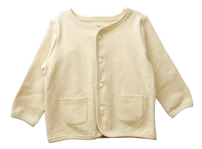 Dordor & Gorgor Organic Baby Cardigan Top, Dye Free, 100% Cotton BMY003-1-$P