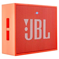 JBL Go Portable Wireless Bluetooth Speaker with Mic (Orange)