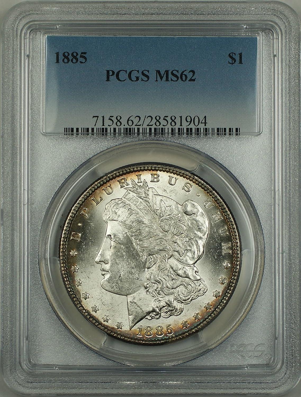 1885 No Mint Mark Morgan Dollar PCGS MS-62 at Amazon's