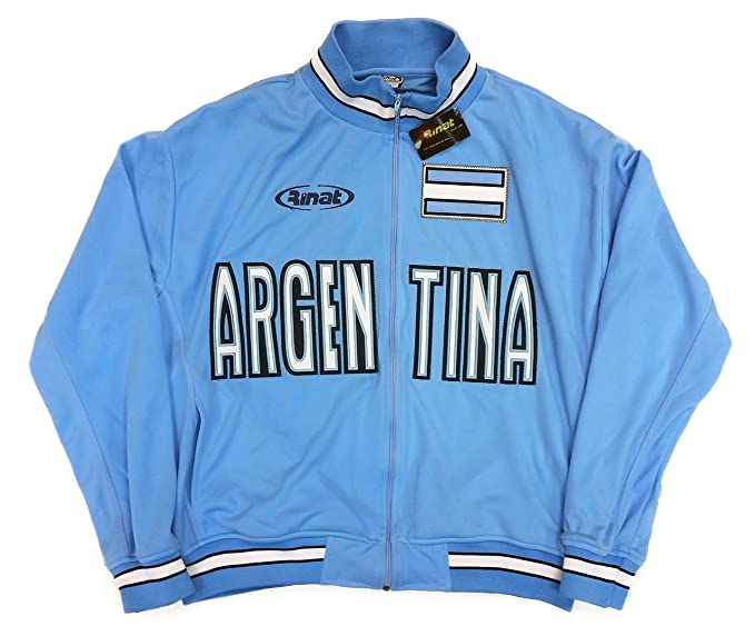 82178e52a Argentina National Soccer Team Jacket Official Licensed Rinat at ...