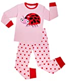 Amazon Price History for:Girls Ladybug Pajamas Set Children Christmas Clothes Cotton Gift Pjs Set