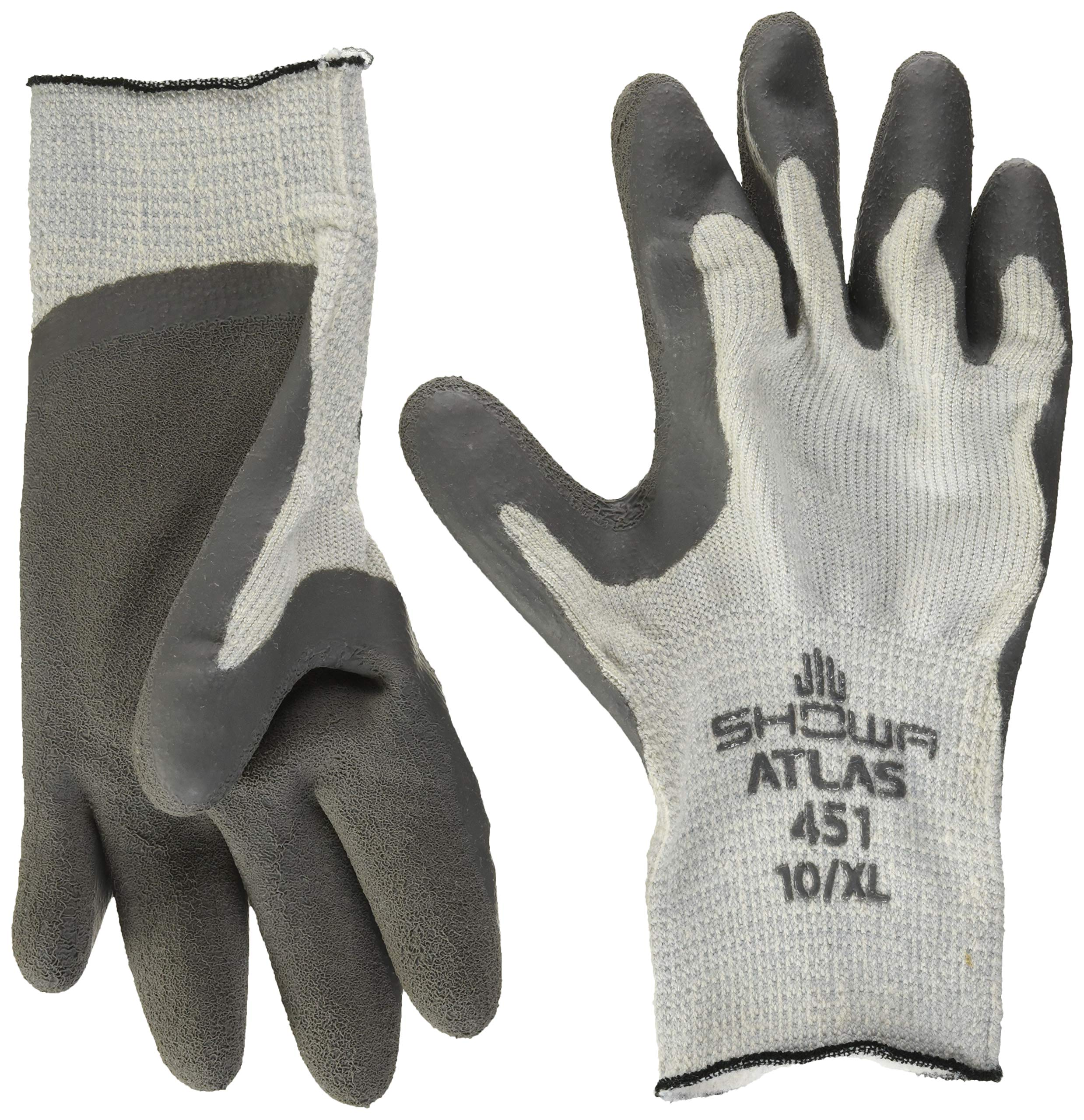 SHOWA 451XL-10.RT Thermal Palm Dip Glove Extra Large