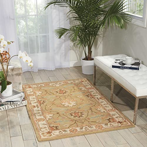 Nourison India House Sage Rectangle Area Rug, 8 x 10 6