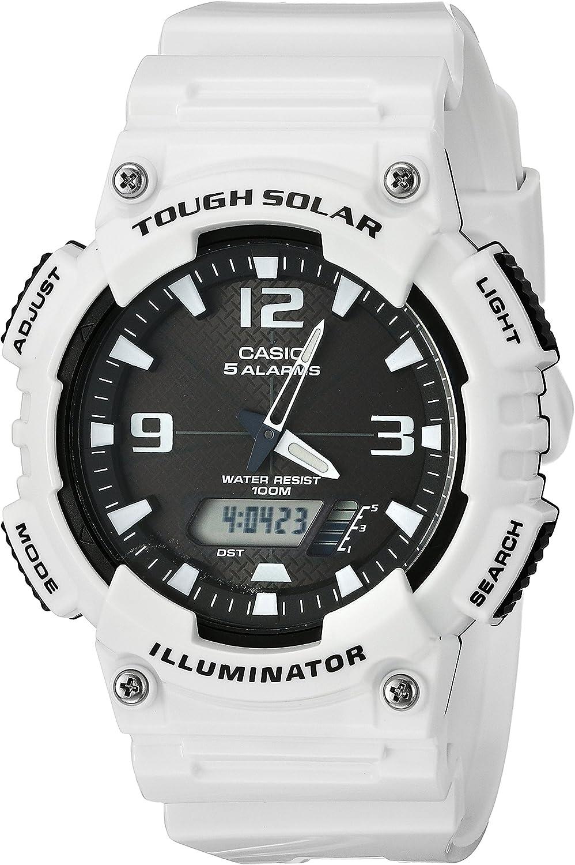 [カシオ] 腕時計 スタンダード ソーラー AQ-S810WC-7AJF ホワイト