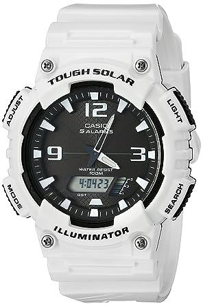 e3f129436b Amazon | [カシオ]CASIO 腕時計 スタンダード ソーラー AQ-S810WC-7AJF ...