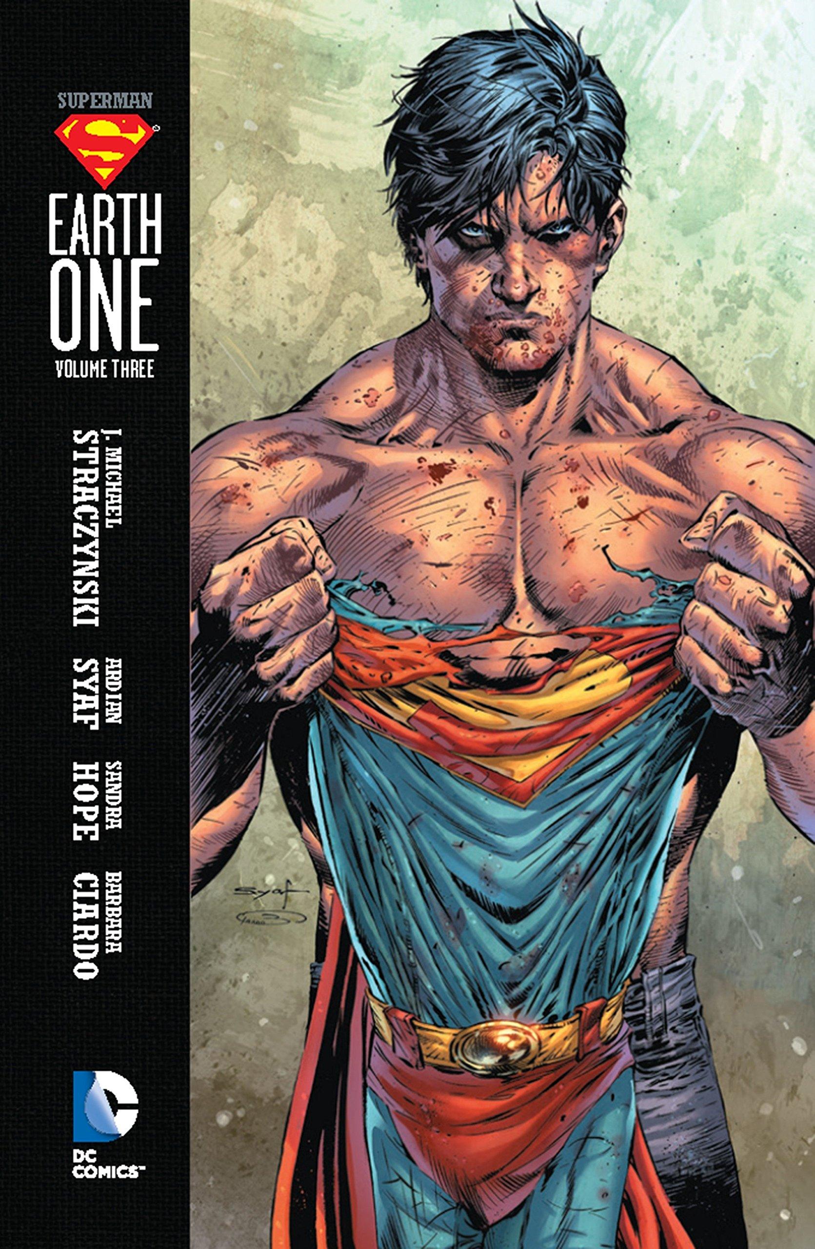 Superman Earth One Adult Work Shirt