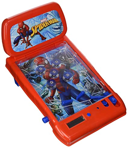 Wondrous The Ultimate Spider Man Table Top Pinball Toy Interior Design Ideas Gentotryabchikinfo