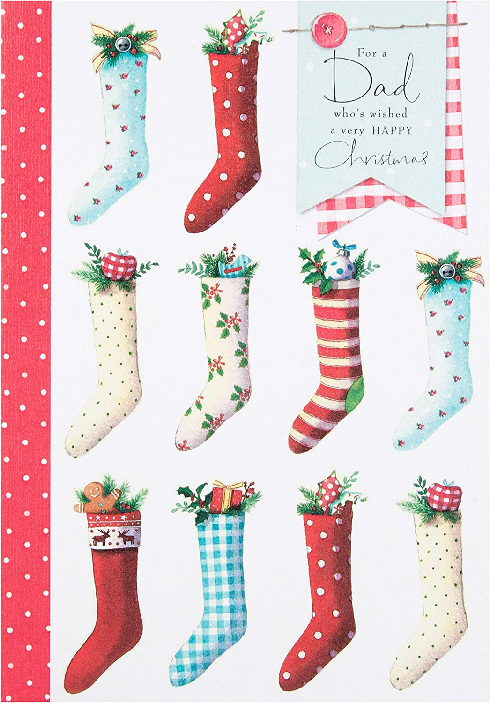 Medium Hallmark Dad Christmas Card Special Season