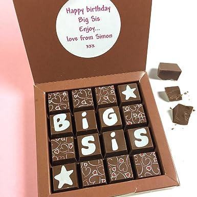 Gift for Sister - Big Sister Gift - Chocolates for BIG SIS - Chocolate Gift for
